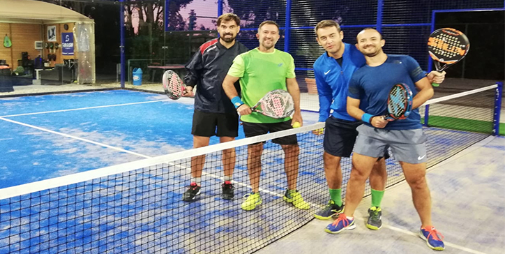 Massimi/Lana vincono in due set allo Smash Padel (video)