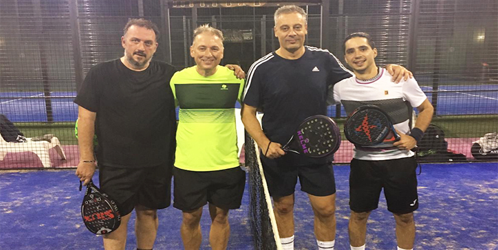 Santamaria/Del Tutto in 3 set al Pink Padel