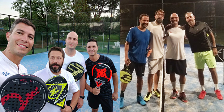 GiroPadel all'Enjoy