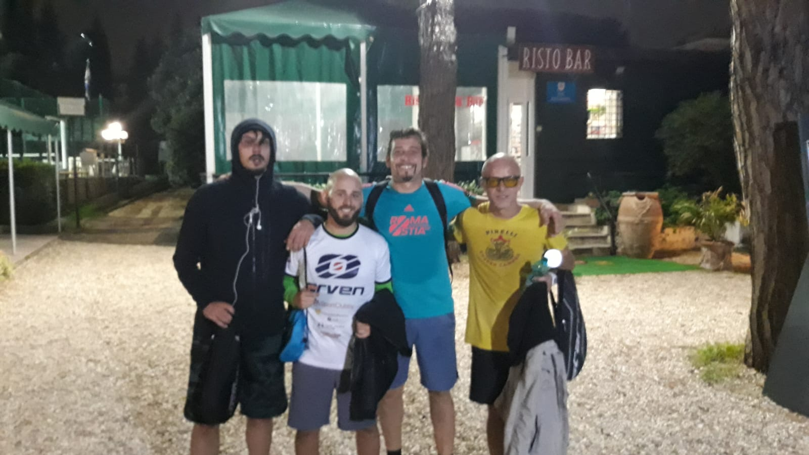 Mas Padel 1^ giornata: Calmanovici/Celli Vs De Angelis/Messina