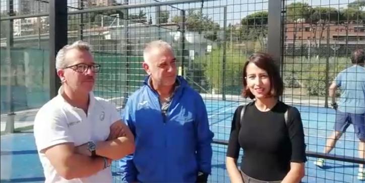 Intervista post-match alla coppia De Santis - Pierfederici