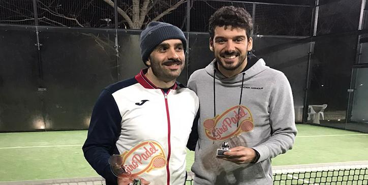 Maro Cecconi/Spalletta vincono il torneo di 1a Categoria Maschile al Frascati Padel