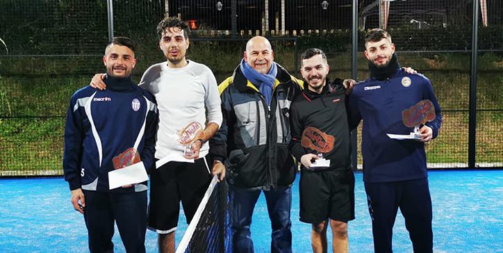 Amatori/Sergi vincono il torneo di 2a categoria Maschile al TClub