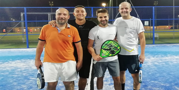 Fabiano/Conti in due set al Padel Zone