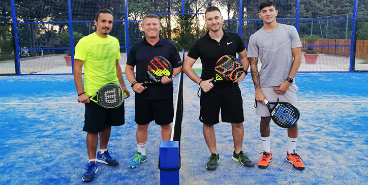 Gnazi/Rosati vincono in due set allo Smash Padel (video)