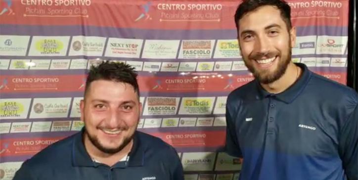 Primo match GiroPadel al Pichini