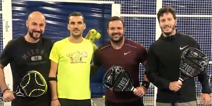 De Prosperis/Franconi vincono al Villa Pamphili Padel Club (Video)