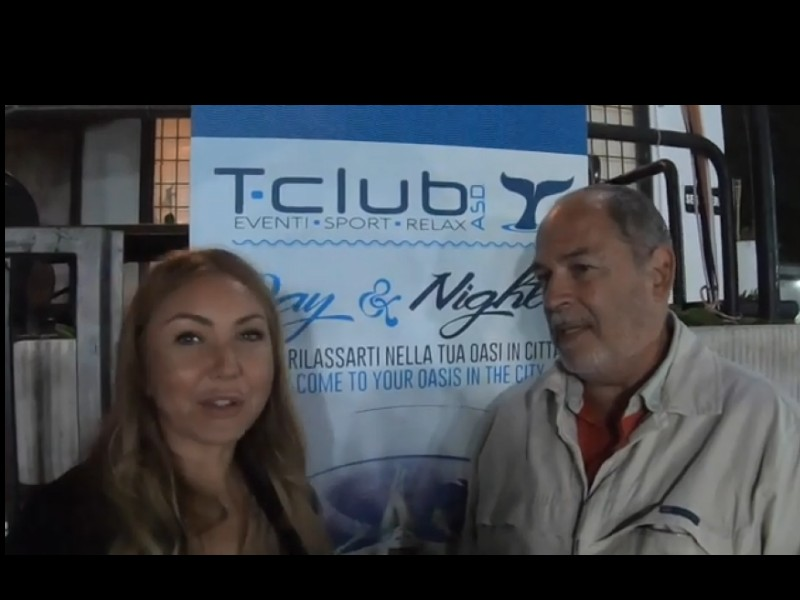 T Club la Videointervista a Marco Tocci