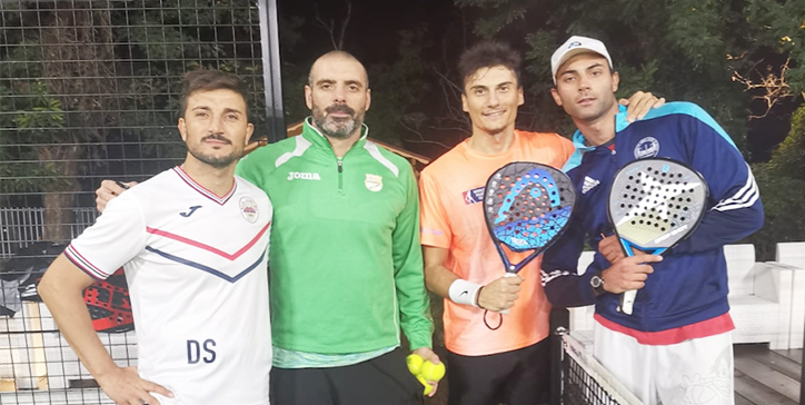 Ribichini/Stigliano in due set al Frascati Padel