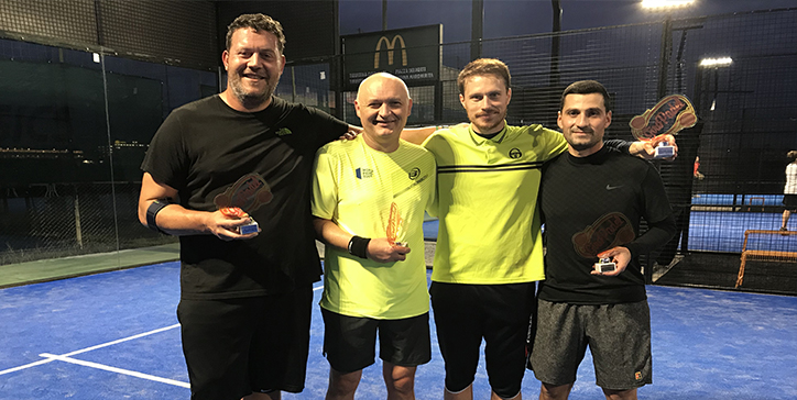 Armellini/Coletti vincono il torneo di 3a Categoria al Mas Padel