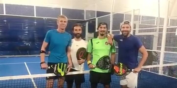 Match clou al Villa Pamphili (Video)