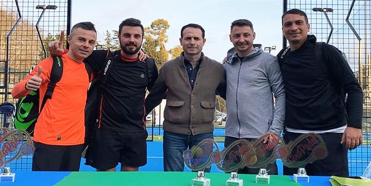 Campoli/Glaciale vincono il Master di 3a Categoria Maschile GiroPadel