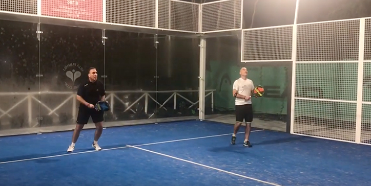 Rosati/Catania vincono al Villa Pamphili Padel Club (Video)