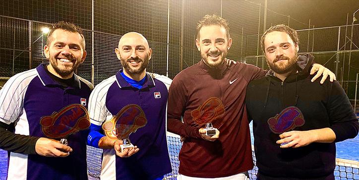 Baffetti/Vaccarella vincono il torneo di 1a Categoria al Casalotti Padel