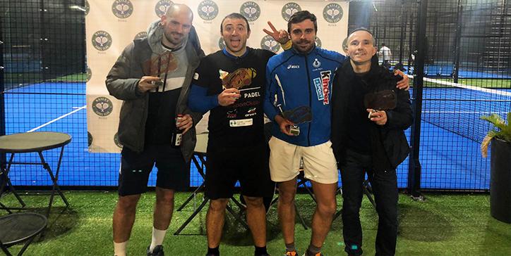 Tucci/Cavaterra vincono la 1a Categoria al Bailey Padel