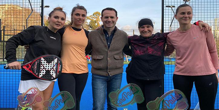 Bardeggia/Tesoro vincono il Master di 1a Categoria Femminile GiroPadel