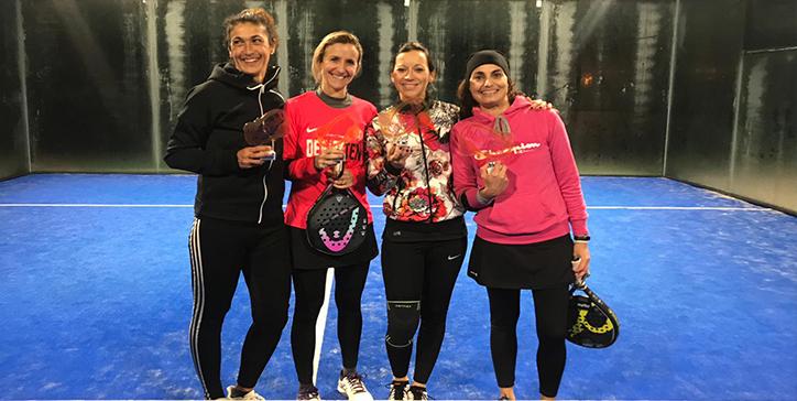 Cucci/Mancinelli trionfano nella 2a Categoria Femminile al Mas Padel