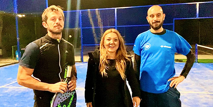 Calabrò/Cecchini ai Quarti allo Smash Padel (Video)