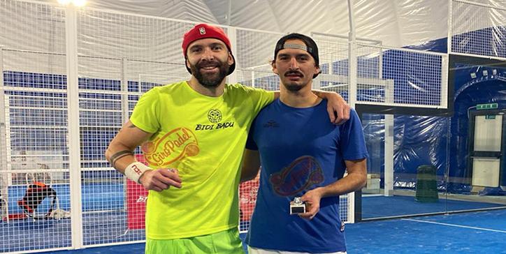 Manieri/Franceschini vincono il torneo di 1a Categoria al Villa Pamphili Padel Club