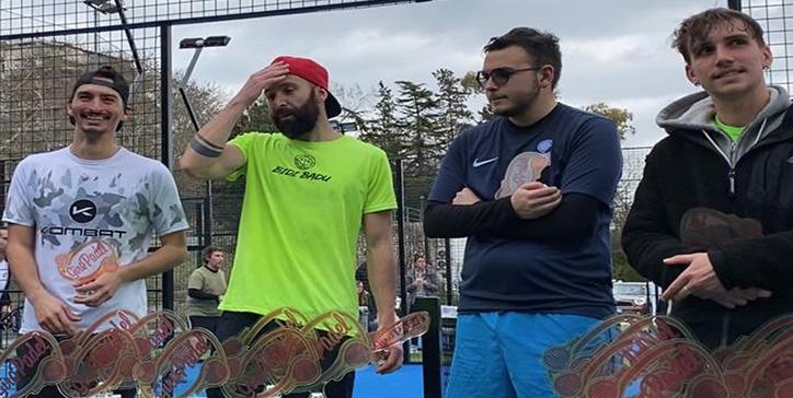 Manieri/Franceschini vincono il Master di 1a Categoria Maschile GiroPadel