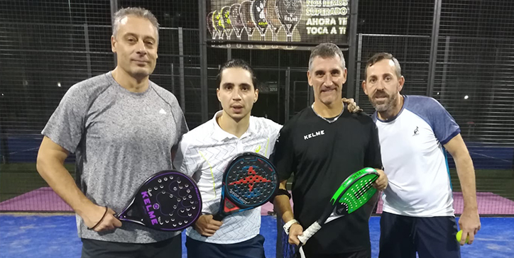 Principe/Rinaldi in due set al Pink Padel