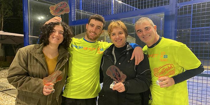 Gnazi/Rosati e Bandiera/Buccioni trionfano nei tornei dello Smash Padel