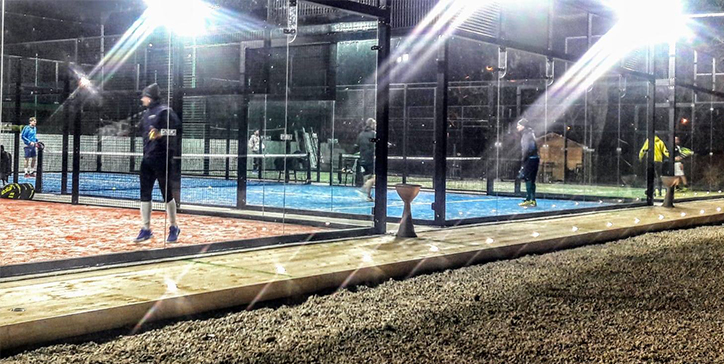 Due match disputati al Frascati Padel