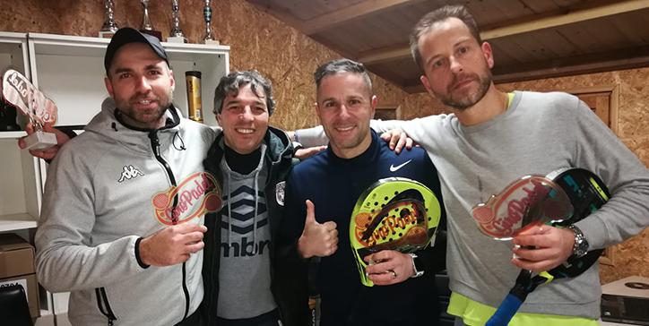 Marcucci/De Sanctis vincono il torneo di 2a Categoria a Sutri (VT)