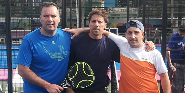 Felici/Palluzzi in due set al Pink Padel