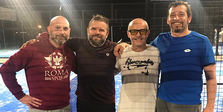 Calmanovici/Celli in due set al Mas Padel